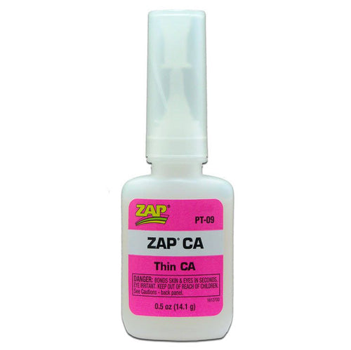ZAP PT-09 1/2 OZ. PINK ZAP CA 1 X BOTTLE