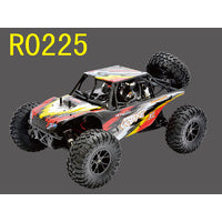 OCTANE Brushed RTR w/7.2V 1800mAH NI-MH battery, Wall Charger, 2.4GHz radio, alum shocks,R0224/R0225 # RH-1043