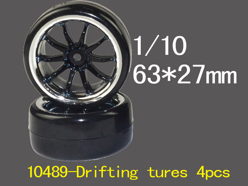 RIVER HOBBY Drift Wheels (4) #RH-10489