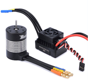 Surpass Hobby Rocket Waterproof 3650 Sensorless Motor 3100kv + 60A ESC Combo