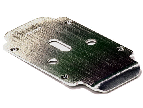 BILLET MACHINED ALLOY CENTER SKID PLATE FOR TRAXXAS E-MAXX (3903, 3908)