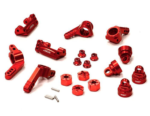 Billet Stage 1 Conversion for Traxxas 1/10 Rustler 2WD, Stampede 2WD & Slash 2WD T8148RED