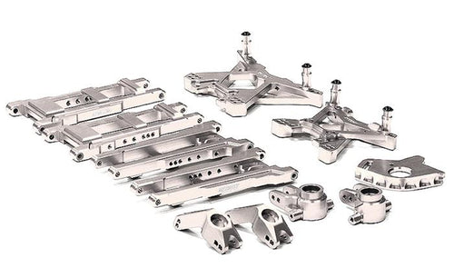 INTEGY Billet Machined Suspension Set for 1/10 Stampede 4X4 & Slash 4X4 (non-LCG) T8580
