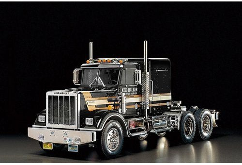 Tamiya 1/14 King Hauler Scaled Tractor Truck Kit - Black Edition
