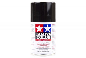 Tamiya TS-14 Black Lacquer Spray Paint 100ml #85014