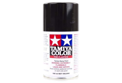 Tamiya TS-29 Semi-Gloss Black Lacquer Spray Paint 100ml #85029