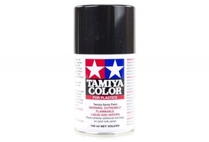 Tamiya TS-40 Metallic Black Lacquer Spray Paint 100ml