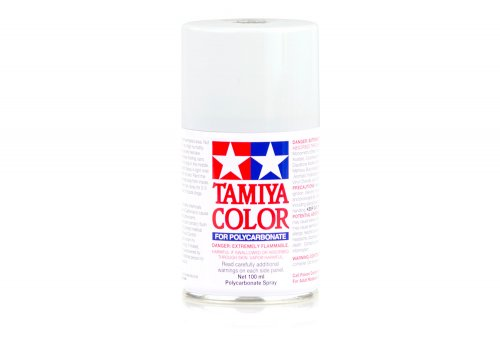 Tamiya PS-1 White Polycarbanate Spray Paint 100ml