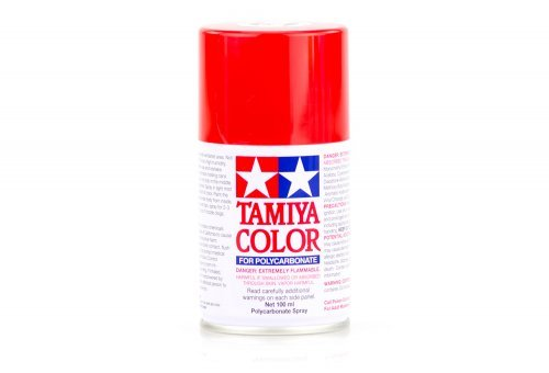 Tamiya PS-2 Red Polycarbanate Spray Paint 100ml