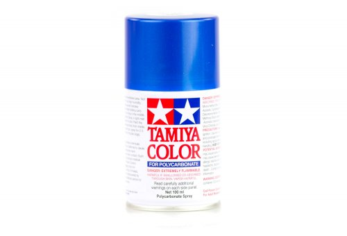 Tamiya PS-16 Metalic Blue Polycarbanate Spray Paint 100ml