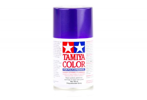 Tamiya PS-18 Metalic Purple Polycarbanate Spray Paint 100ml