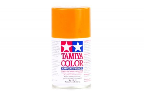 Tamiya PS-24 Fluorescent Orange Polycarbanate Spray Paint 100ml