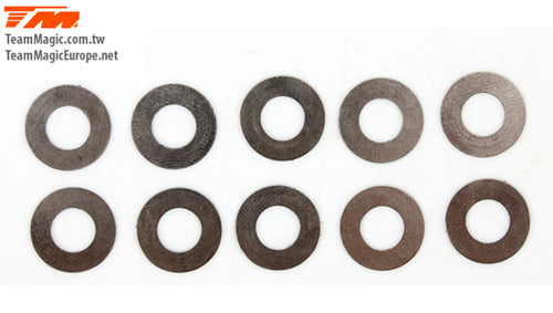 TEAM MAGIC 6.2x12x0.15mm Washer (10) #TM130121