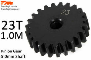 TEAM MAGIC Pinoion gear M1 for 5mm shaft 23T