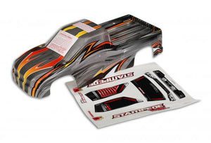 Traxxas Stampede ProGraphix Unpainted Body Shell #3615