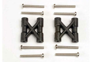 Traxxas Bulkhead Cross Braces 2Pcs w/ Screws #3930