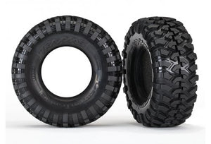 "Traxxas 1.9"" Canyon Trail Tyres w/ Foam Inserts 2Pcs #8270"