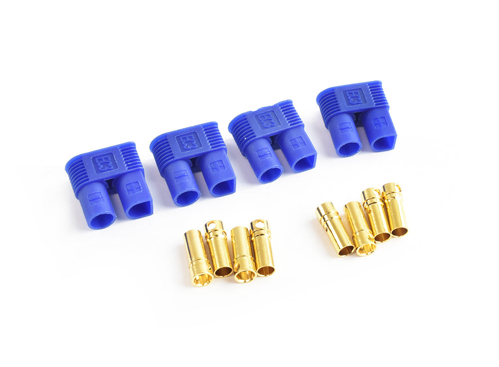 TORNADO RC EC3 Plug Female(Female bullet with male housing) 4pcs/bag
