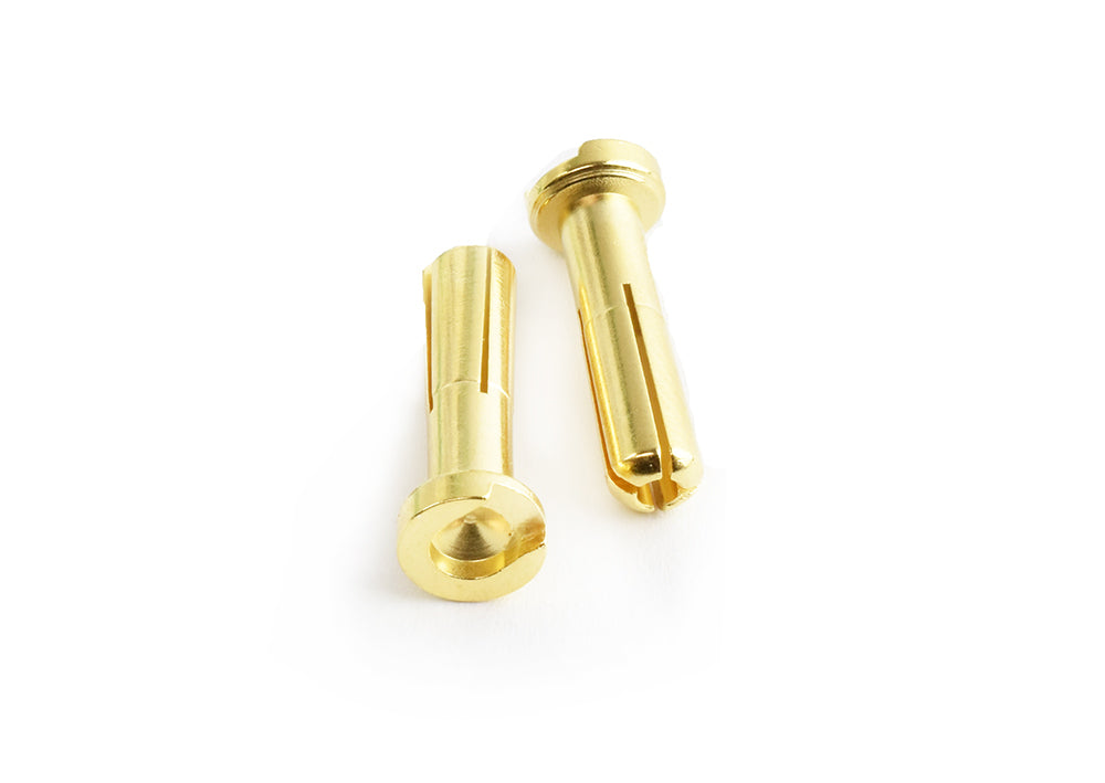 TORNADO RC 4.0mm Low Profile Gold Plated connector Male 2pcs/bag