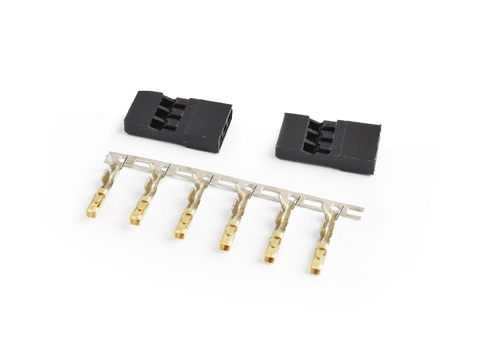 TORNADO RC JR connector Male Gold plated terminals 2sets/bag