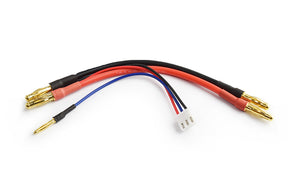 TORNADO RC Balancer Adaptor for Lipo 2S with 4mm/2mm Connetor