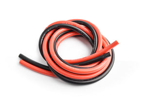 TORNADO RC Silicone wire 10AWG 0.06 with 1m red and 1m black