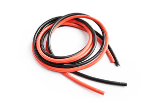 TORNADO RC Silicone wire 12AWG 0.06 with 1m red and 1m black