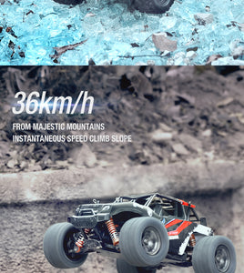 TORNADO RC 1/18 4WD RTR High speed truck 2.4g 35KM 20 Minute runtime Blue Body