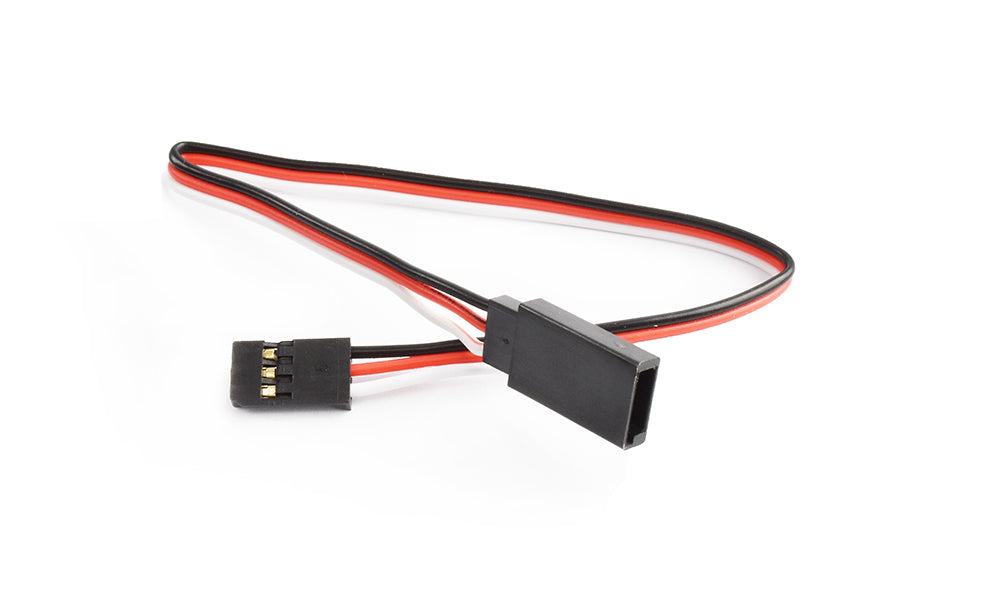 TORNADO RC 20cm 22AWG Futaba straight Extension wire