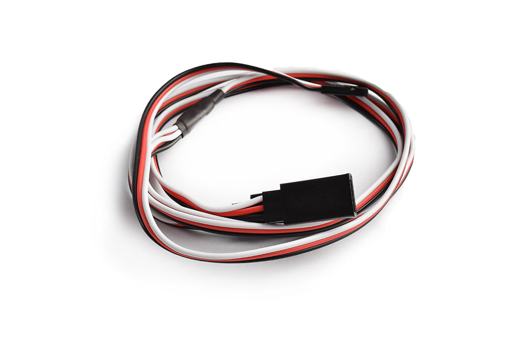 TORNADO RC 60cm 22AWG Futaba straight Y Extension wire