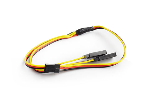 TORNADO RC 30cm 22AWG Hitec straight Y Extension wire