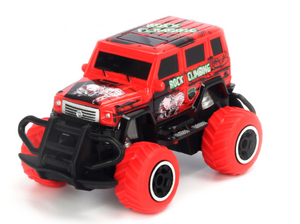 1:43 Scale 4 channel RC RTR car Red Body, (Requires AA Batteries)  #TRC-6146T-R