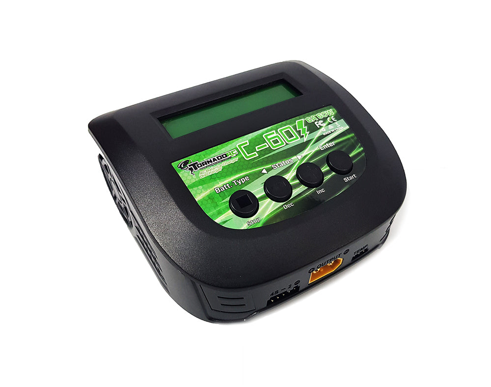 Tornado RC C-60 Multi Chemistry Battery Charger