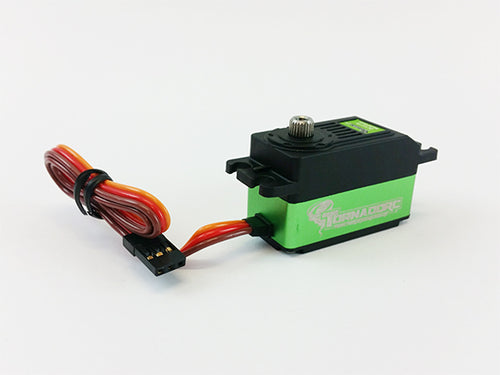 Tornado RC .093 12kg Digital Coreless LP Plastic Case Servo