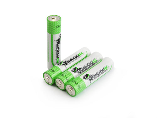 Tornado RC AAA Size Battery 4 Pack Super Alkaline
