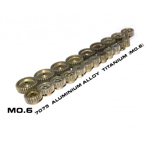 M0.6 21T pinion gear