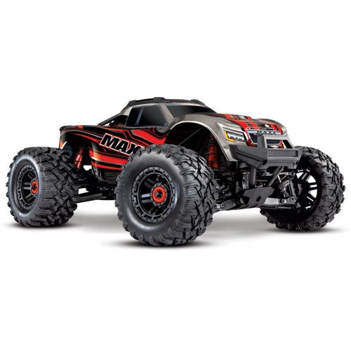 Traxxas Maxx 4S 1/10 Brushless Electric Monster Truck (Red) 89076-4