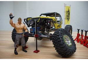 Yeah Racing 1/10 Rock Crawler Metal High Lift Jack 1Pc