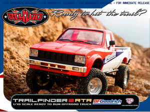 RC4WD Trail Finder 2 RTR w/Mojave II Body Set (BFGoodrich 150th Anniversary Edition)