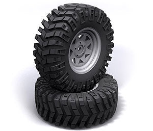 "RC4WD Prowler XS Scale 1.9"" Tires"
