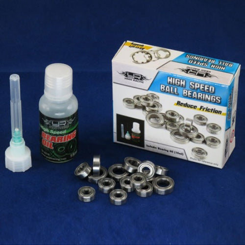 YEAH RACING RC PTFE BEARING SET WITH BEARING OIL FOR AXIAL SCX10 #YB0290BX