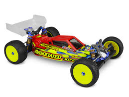 JCONCEPTS F2 - B6 | B6D body w/ Aero wing #0315 CLEAR