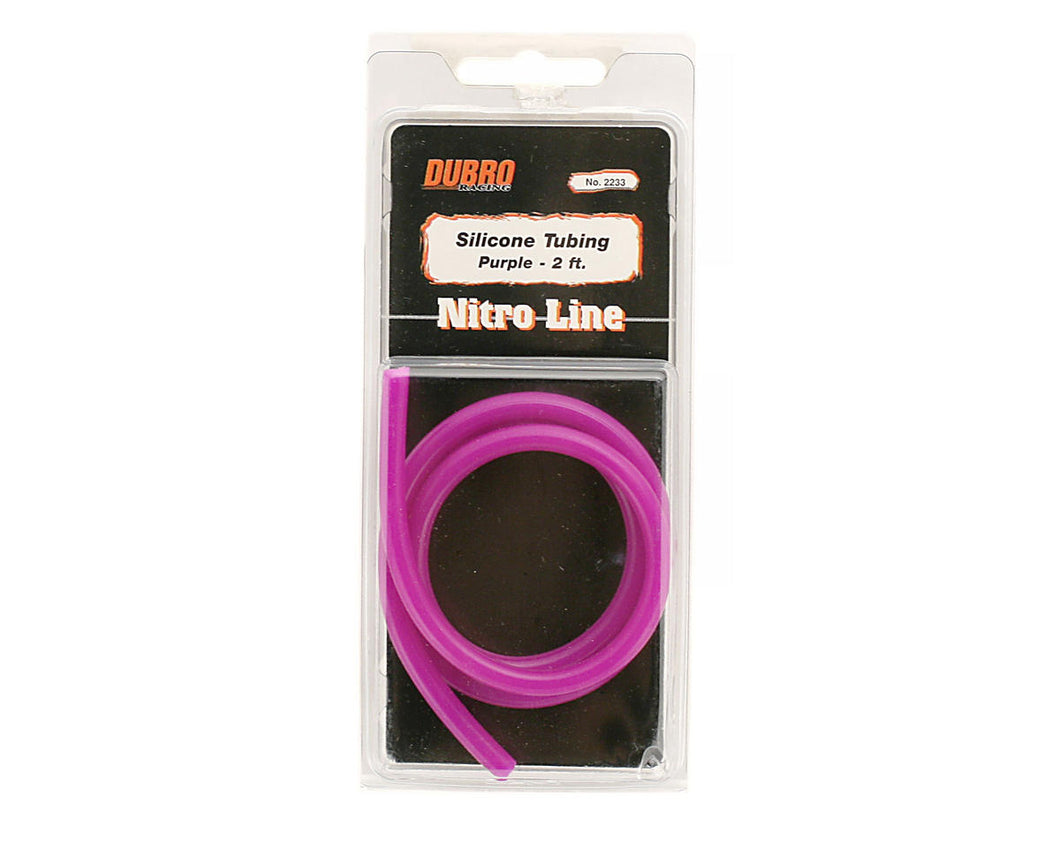 DUBRO 2233 NITRO LINE (PURPLE) - 2 FT (1 PCS PER PACK)