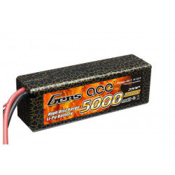Gens Ace 5000mAh 40C 14.8V Soft Case Lipo Battery