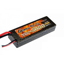Gens Ace 5000mAh 40C 7.4V Hard Case Lipo Battery (Deans Plug)
