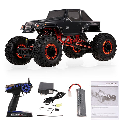 HSP 1/10 Pangolin 4WS Electric 4WD RTR RC Rock Crawler