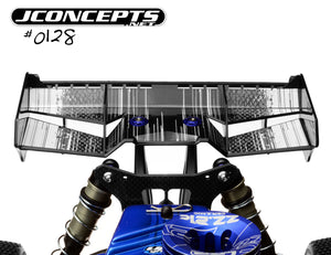 JCONCEPTS Finnisher - 1/8th Buggy/Truck Wing black
