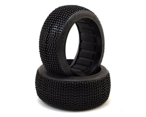 JConcepts Kosmos 1/8 Buggy Tire (2) (Red2 - Long Wear) #JC3186-R2