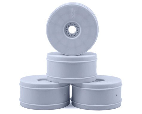 JConcepts 83mm Bullet 1/8th Buggy Wheel (4) (White) #JC3357W