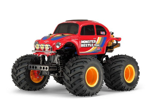 TAMIYA 1:14 Scale Monster Beetle Trail (GF-01TR) Assembly Kit - T58672